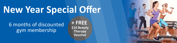 NEW YEAR SPECIAL OFFER - 6 months of discounted gym membership - PLUS Free beauty therapy voucher
