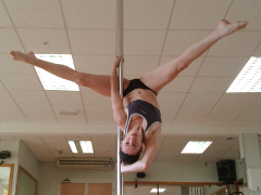 Pole Fitness instructor Amy